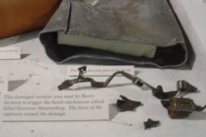 Bomb Fragments from the infernal machine of Harry Orchard