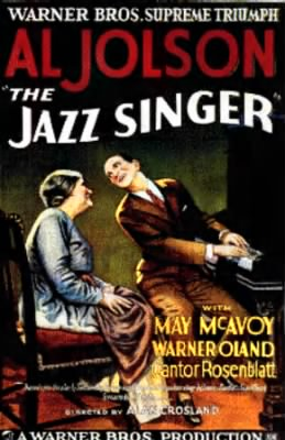 Movie Poster for The Jazz Singer
