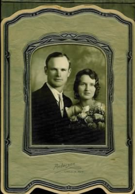 Glenn Theodore Wachter and Ruby Hall Wachter