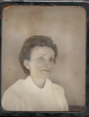Lenore Mary (Lane) Simpson Circa 1959