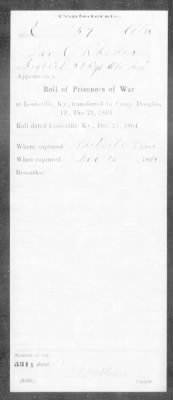 Confederate Service Record (8 of 12)