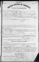 Dissinger, Fred › Petition for Naturalization (1912) - Fold3.com