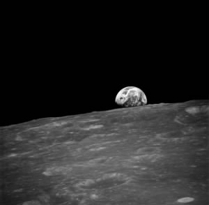 First Earthrise