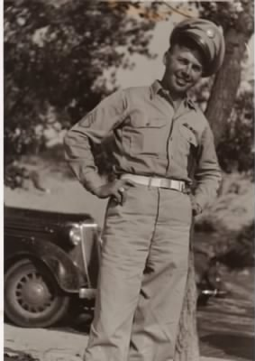 Roberts, Louis Rowland:  Patton's 3rd Army, 94th Div,, Co H 376 Th Infantry