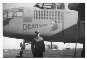 James M Bugbee, Capt. AAC, B 25 Pilot, 321st BG, 447th BS. Africa/Italy