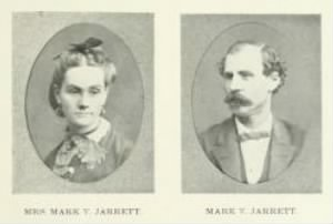 Photograph of Mr & Mrs. M.V. Jarrett