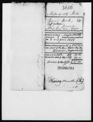 Isaac Buck's Revolutionary War Pension File - page 2