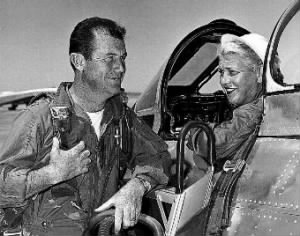 Cochran and Yeager- F-86 at Edwards