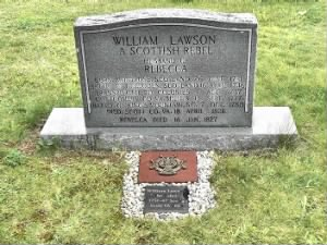 William Lawson Headstone