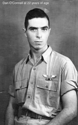 Daniel E O'Connell, AAC - 321stBG, 447thBS, Engineer/Gunner