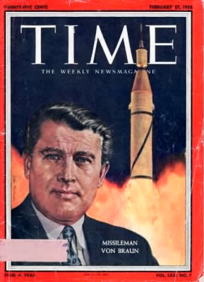 Time 1958 Magazine Cover