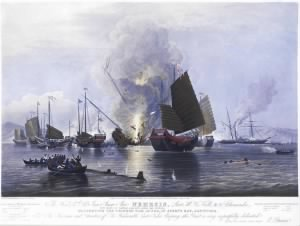 The Battle of Anson's Bay
