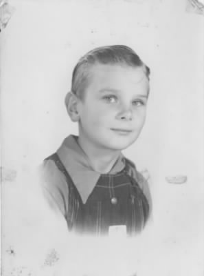 Wayne as a young man