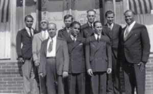 Spanish Congregation in Greenpoint, Brooklyn, 1930