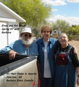 Ernie, Lew's Daughter PAT and Friend Barbara, 2007 AZ