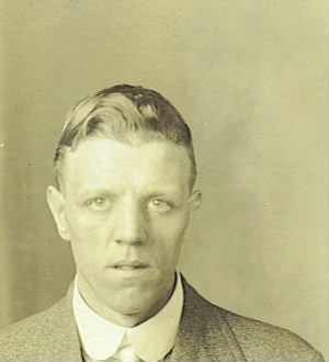 passport Photograph Late 1920s
