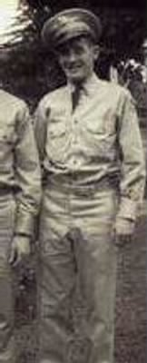 Walter Cecil Cookman, US Army, Mechanic, WW II