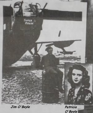 James and Patricia O'Boyle, WW II