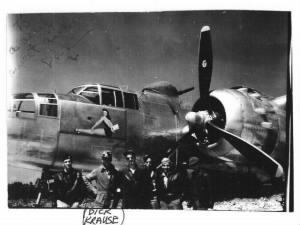 "321stBG,445thBS, ""CUDDLE BUNNY"" B-25 Mitchell Loss, 18 Sept'44 #43-27792"