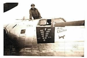 "S/Sgt Edwin ""MIKE"" Elliott, WWII, 57th Bomb Wing HQ"
