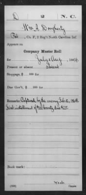 Dougherty, William H (40) - Page 6