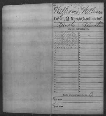 Williams, William (23) - Page 1