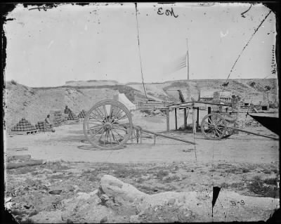 Mathew B Brady Collection of Civil War Photographs › B-3 Fort Johnson - Fold3.com