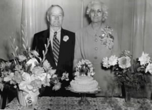 50th Wedding Anniversary -- 24 April 1951