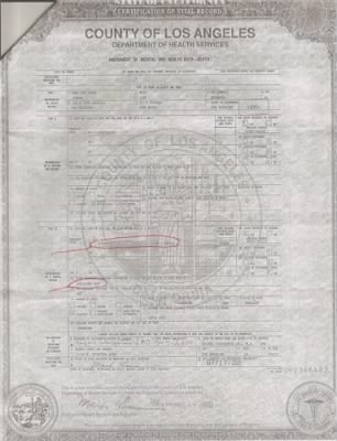 Larry Lee Bremmer - Death Certif - Fold3.com