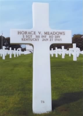 Monument of Horace Verlon Meadows