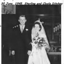 Sterling and Cleola wedding, 30 June, 1945