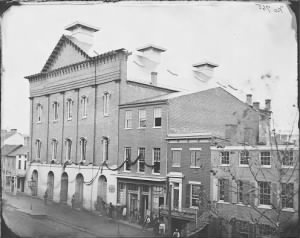 Exterior of Ford's Theatre