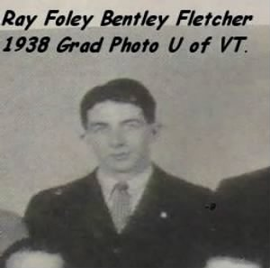 1938, Ray Grad photo at the U of Vermont.