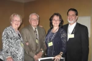 Rocky and Norma Milano, (Norma's daughter) Dr.Peggy and Robt. Chatham