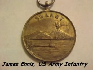 James Ennis was with the 5th US Army Infantry /Italy, 1943