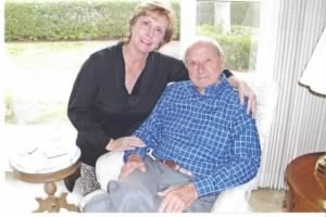 George and daughter Patricia, about 2010.  George is 92 years young here.