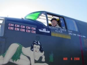 Once a PILOT, always a PILOT, 2008 in a B-25 :)