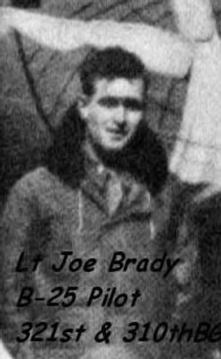 Lt Joseph J Brady while he was in the 310th BG (he also was in 321st BG)