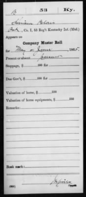 Blair, Hiram (Elihu) I 53 KY Inf Compiled Service Record Page 5.jpg