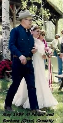 May 1989, Al Powell gave Barbara away at her wedding to Paul Connolly