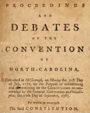 Grove Ratifies Constitution 1788