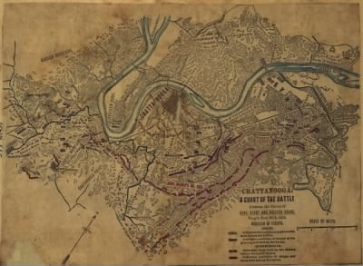 Chattanooga. A chart of the battle between the forces of Gens. Grant and Braxton Bragg, fought Nov. 24-5 1863. › Page 1 - Fold3.com