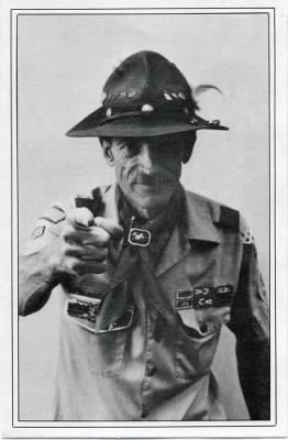 Scout Master George B Underwood (California)