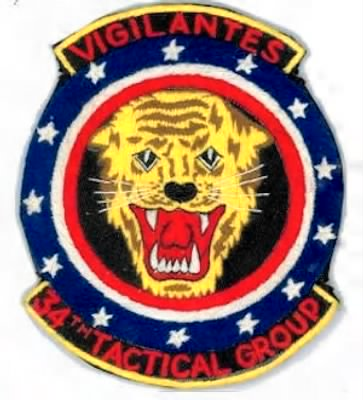 Louie Otto belonged to the 34th Tactical Group - Bien Hoa, Vietnam