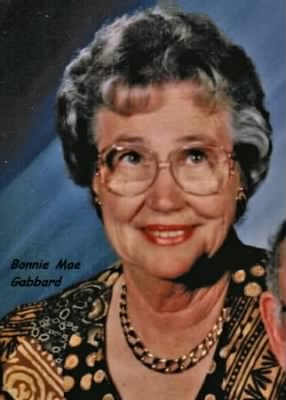 Bonnie Mae Gabbard 1929-2007,( wife of James NELSON Gabbard)
