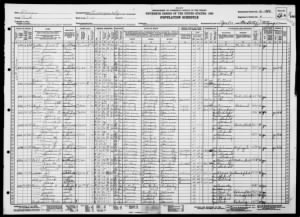 1930 Census for James F Blazek ED 16-1989-Sheet 8a