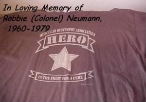 In Loving Memory of Robbie (Col) Neumann