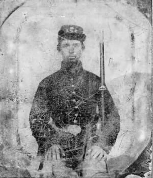 David Van Kleeck in uniform