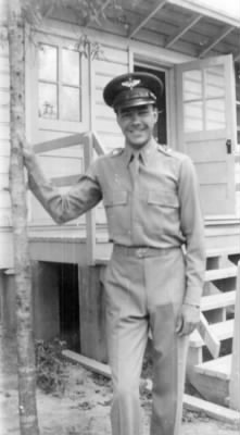 Lester Personeus, Jr. in uniform