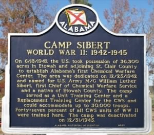 Camp Seibert Historical Marker